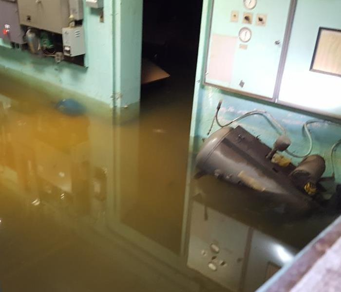 Burst Pipe Causes Flooding Before