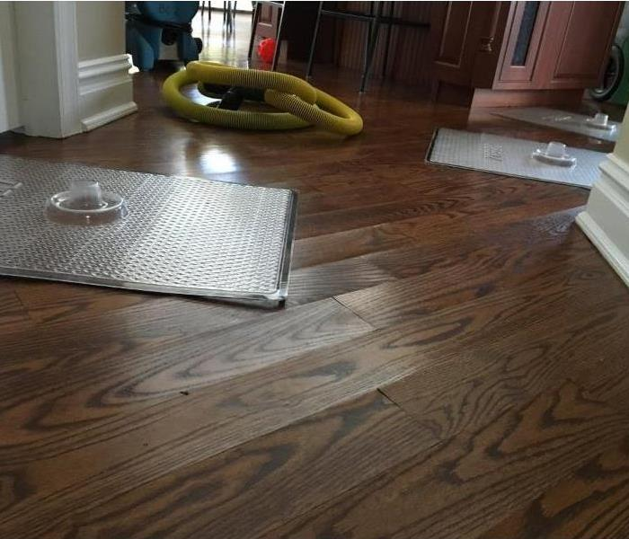 Water Damage- Rescue Mat Drying System
