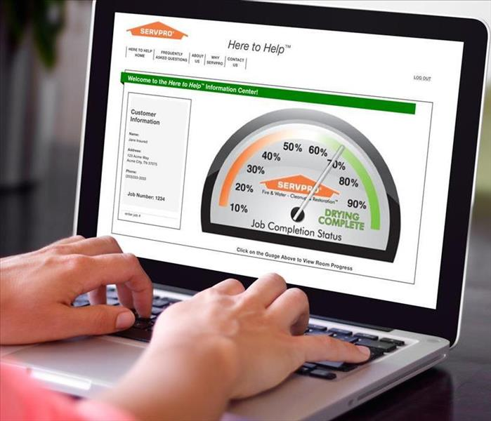 Water Damage SERVPRO® HAS DRYING DOWN TO A SCIENCE