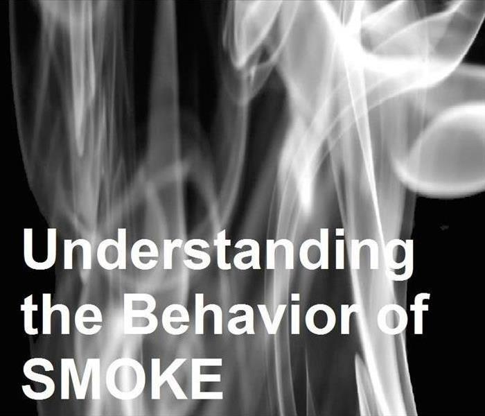 Billowing smoke with text Understanding the Behavior of smoke.